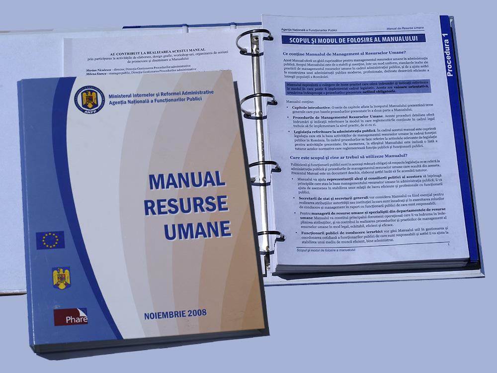Caiet mecanic MANUAL RESURSE UMANE