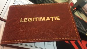 Legitimatie de serviciu Premium
