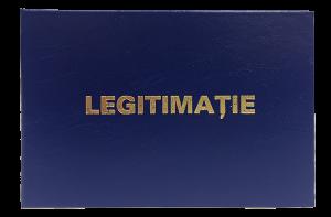 Legitimatie de serviciu albastru 2