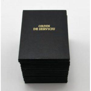 Ordin de serviciu pentru agenti de paza